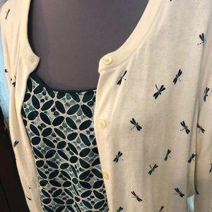 XL Bundle, 2 blouse, 1 cardigan
